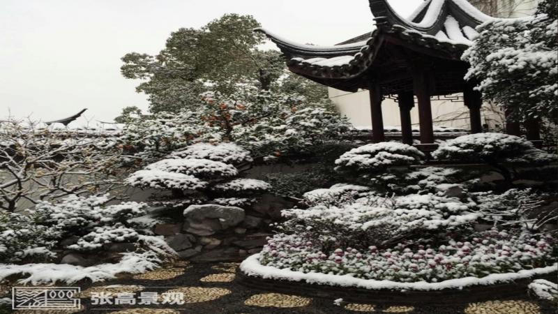 中国人家园林展示