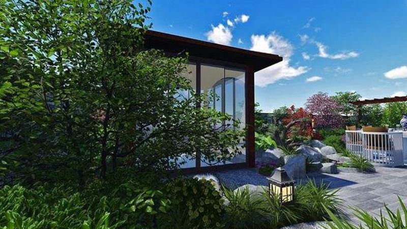 现代自然庭院风格展示