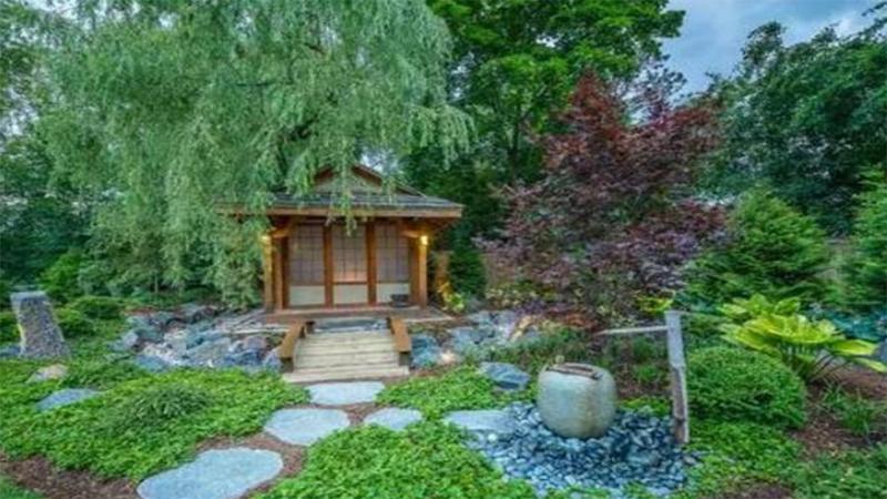 日式花园效果展示