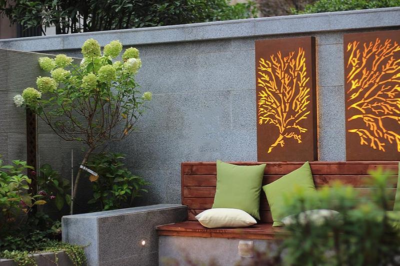 现代庭院--实景图